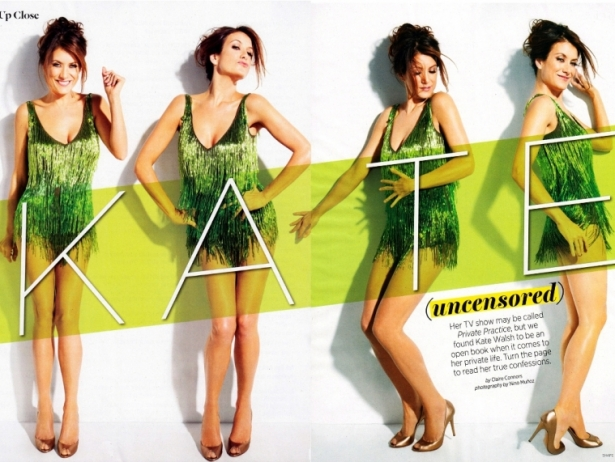Kate Walsh Covers Shape Magazine March 2012