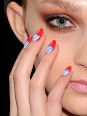 Fall 2012 Runway Nail Design Trends
