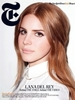 Lana Del Rey Covers T Magazine Women's Fashion Spring 2012