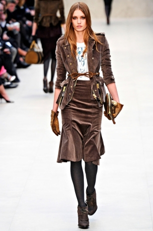 Burberry Prorsum Fall 2012 RTW Collection