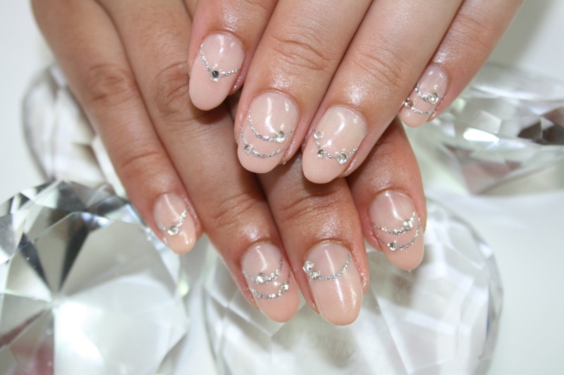 Nail Designs With Tape together with How To Do Nude Nail Art POPSUGAR