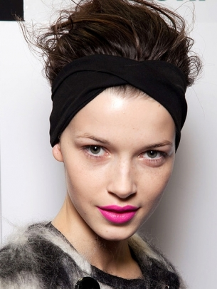 Fall 2012 Runway Hair Accessories Trends