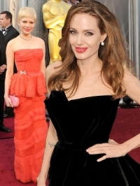 2012 Oscars Red Carpet Dresses [PHOTOS]