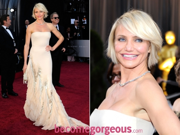 Cameron Diaz 2012 Oscars Dress