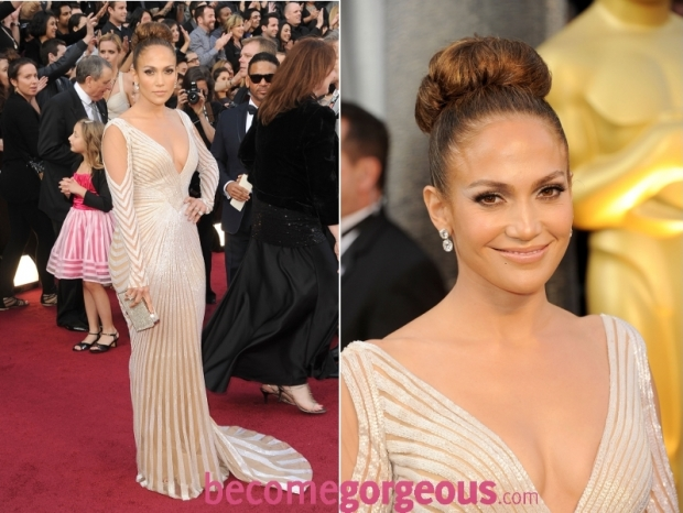 Jennifer Lopez 2012 Oscars Dress