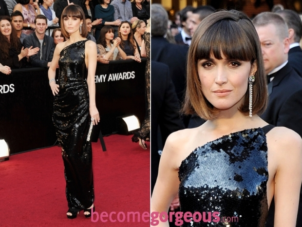Rose Byrne 2012 Oscars Dress