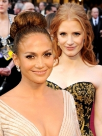 Best Celebrity Hairstyles from the 2012 Oscars [PHOTOS]