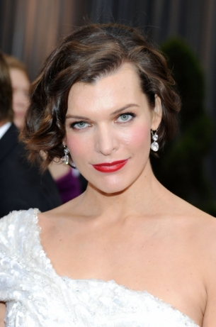 Milla Jovovich 2012 Oscars Hairstyle