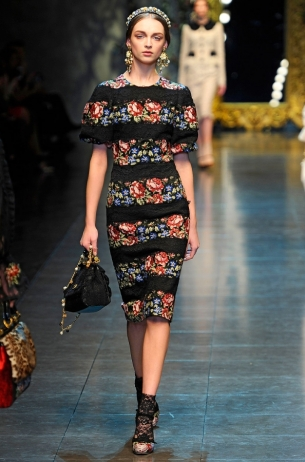 Dolce&Gabbana Fall 2012 RTW Collections