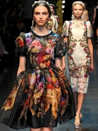 Dolce & Gabbana Fall 2012 RTW Collection
