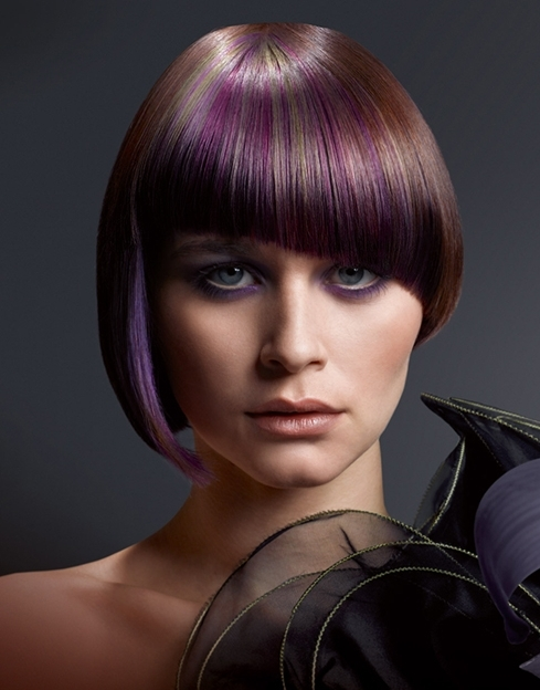 hair style and hair color creative hair color trends 2012 56551