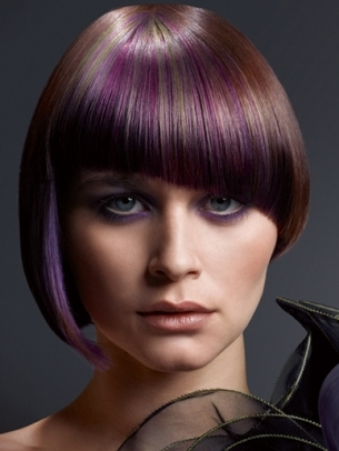 Creative Hair Color Idea