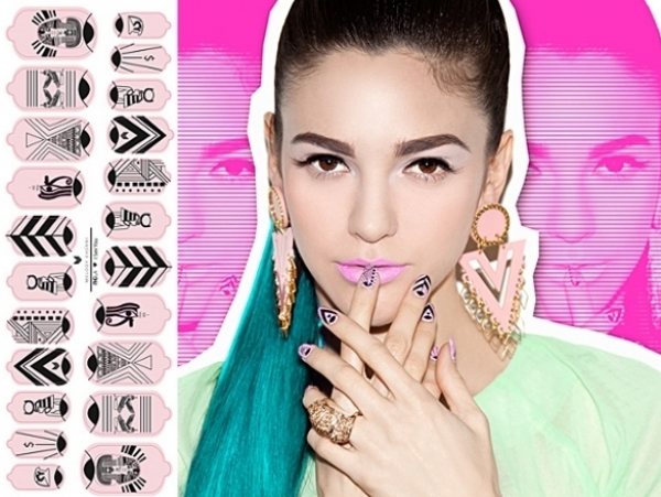 Melody Ehsani For NCLA Nail Art 2012