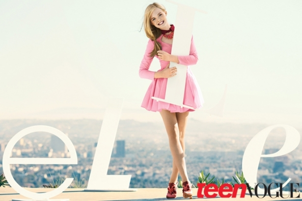 Elle Fanning Covers Teen Vogue February 2012