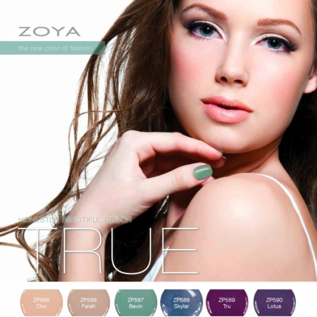 Zoya True Collection Spring 2012 Nail Lacquers