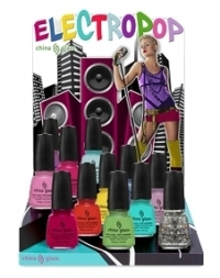 China Glaze Electropop Spring 2012 Nail Polishes