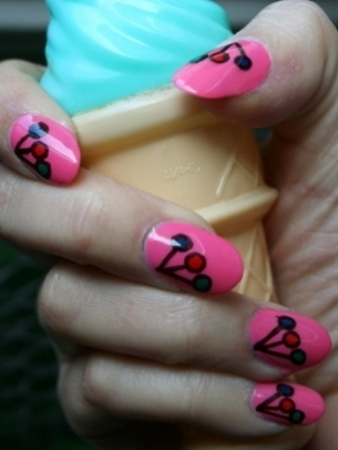 funky and simple nail art ideas