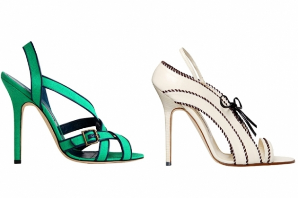 Manolo Blahnik Spring 2012 Shoes