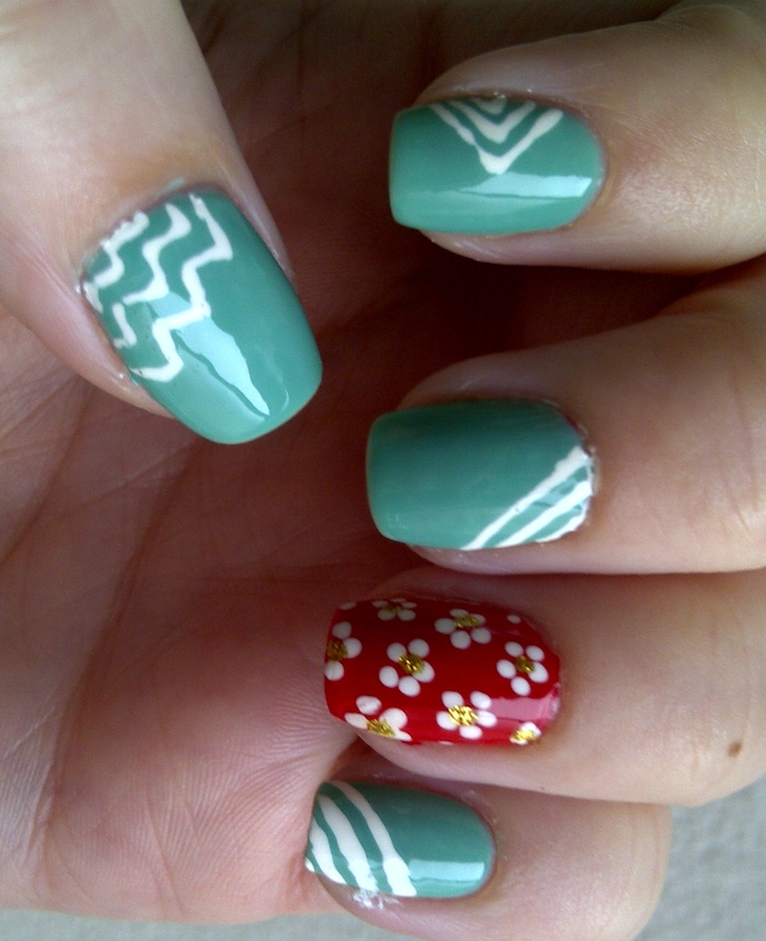 Simple Nail Art: Simple And Smart Nail Art Ideas