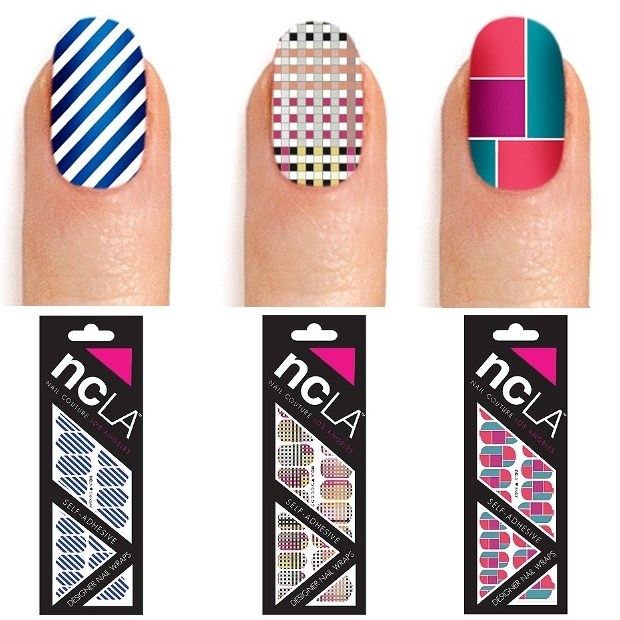 2012 must try nail wrap designs - Cool nail designs you can do at home ...