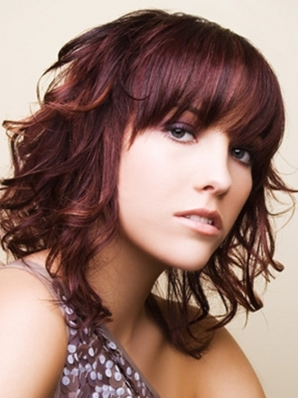 Hairstyles For Medium Length Hair Color : Shoulder length medium hairstyles