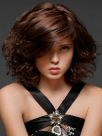 Shoulder-Length Medium Hairstyles 2012