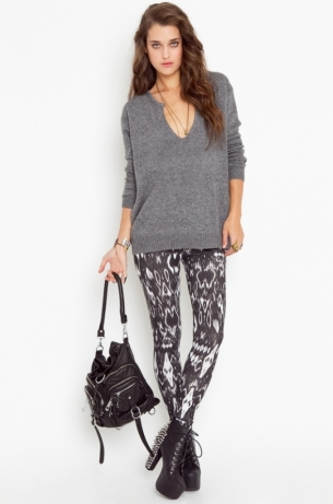Printed Leggings Trend