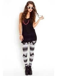 Printed Leggings | Spring 2012 Trends