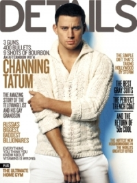 Channing Tatum Covers 'Details' February 2012