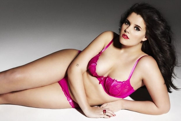 Plus Size Girl As New Face For Ann Summers