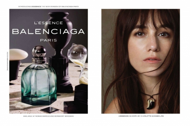 Charlotte Gainsbourg is currently the face of Balenciaga Paris