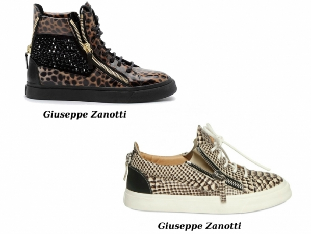 Stylish Luxe Sneakers For Spring 2012