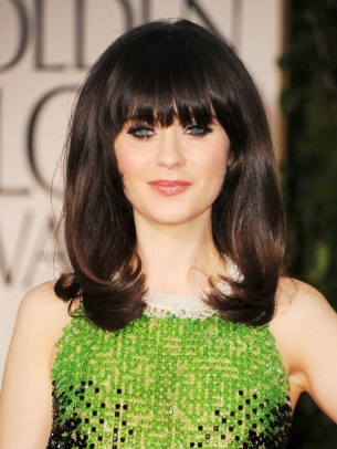 Best Celebrity Hairstyles 2012 Golden Globe Awards