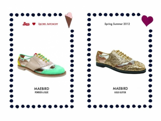 Bass Loves Rachel Antonoff Spring/Summer 2012 Shoes
