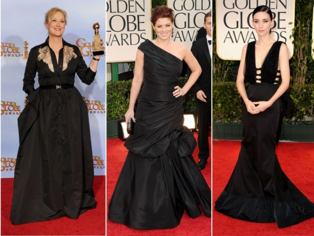 Red Carpet Dresses 2012 Golden Globe Awards