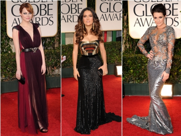 2012 Golden Globe Awards Best Dresses