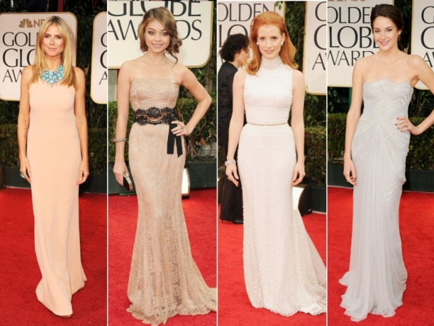 2012 Golden Globes Red Carpet Gowns