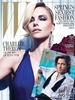 Charlize Theron and Brad Pitt for W Magazine February 2012