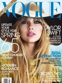 Taylor Swift Covers Vogue February 2012