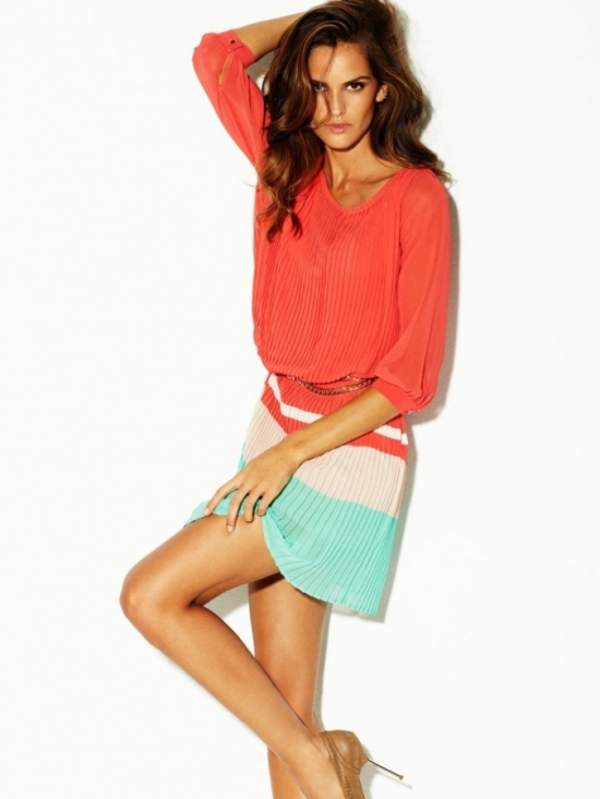 Izabel Goulart for Blanco Spring 2012 Campaign