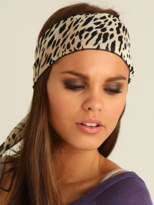 Animal Print Head Wrap