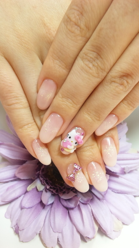 Kitty Nail Art Designs