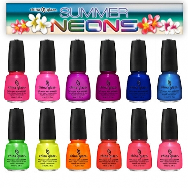 China Glaze Summer Neons 2012