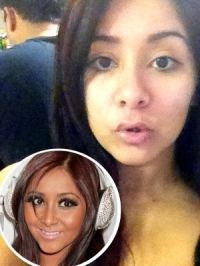 Snooki Tweets Photos of Herself Without Makeup