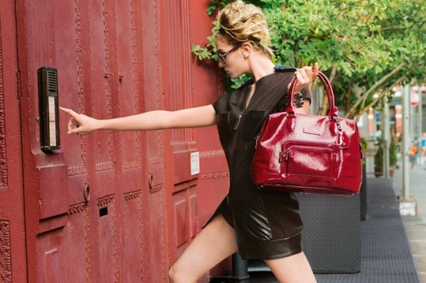 Coco Rocha for Longchamp Spring 2012 Campaign