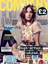 Alexa Chung Covers Company February 2012