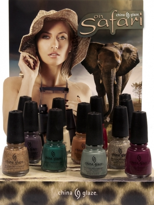 China Glaze Safari Collection 2012