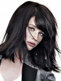 Shoulder Length Layered Hairstyles 2012