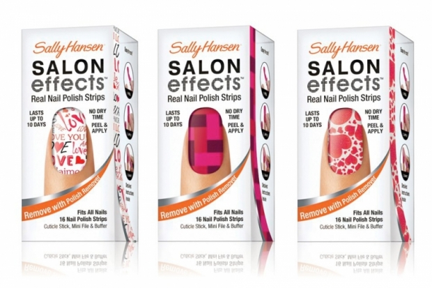 Sally Hansen Salon Effects Valentines Day 2012 Nail Strips