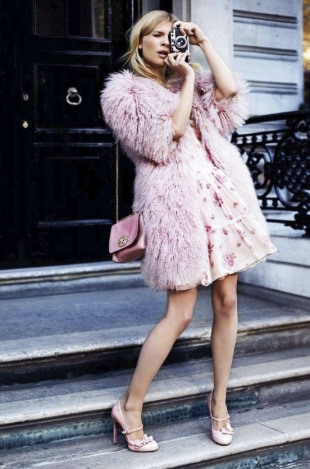 Clémence Poésy for Glamour UK February 2012
